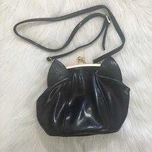 Handbags - Black cat purse